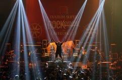 Festival del metallo di musica immagine stock