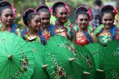 Festival del paraguas foto de archivo libre de regalías