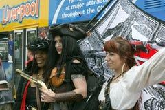 Festival del pirata di Liverpool - editoriale Immagine Stock
