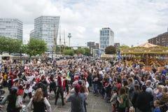 Festival del pirata di Liverpool - editoriale Fotografie Stock Libere da Diritti