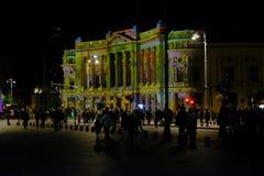 Festival 2017 del proyector imágenes de archivo libres de regalías