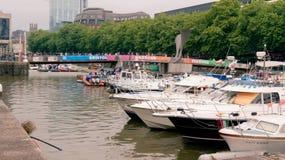 Festival del puerto de Bristol Fotos de archivo libres de regalías