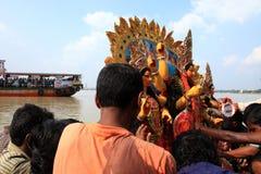 Festival del puja de Durga Imágenes de archivo libres de regalías