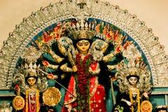 Festival del puja de Durga en Calcutta en la India Foto de archivo