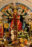 Festival del puja de Durga en Calcutta en la India Imagenes de archivo