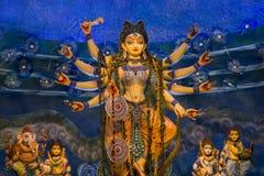Festival del puja de Durga en Calcutta en la India Fotografía de archivo libre de regalías