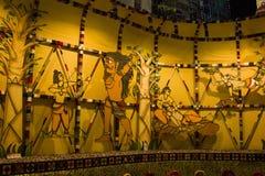 Festival del puja de Durga en Calcutta en la India Foto de archivo libre de regalías