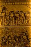 Festival del puja de Durga en Calcutta en la India Imagen de archivo libre de regalías