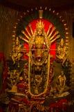 Festival del puja de Durga en Calcutta en la India Fotos de archivo libres de regalías