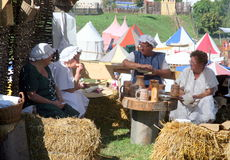 Festival del renacimiento, Koprivnica, Croacia, 2015, 25 Imagenes de archivo