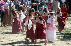 Festival del renacimiento, Koprivnica, Croacia, 2015, 30 Fotografía de archivo
