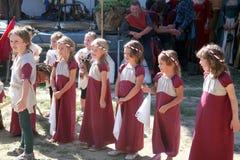 Festival del renacimiento, Koprivnica, Croacia, 2015, 31 Fotos de archivo