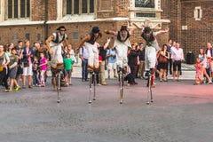Festival del teatro de la calle Fotografía de archivo libre de regalías