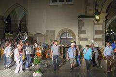 Festival del teatro de la calle en Kraków 2018 fotografía de archivo libre de regalías