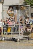 Festival del teatro de la calle en Kraków Fotos de archivo libres de regalías