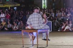 Festival del teatro de la calle en Kraków Fotografía de archivo