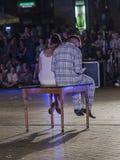 Festival del teatro de la calle en Kraków Imágenes de archivo libres de regalías