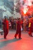 Festival del teatro della via Fotografie Stock
