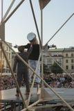 Festival del teatro della via a Cracovia 2018 Fotografia Stock