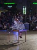 Festival del teatro della via a Cracovia Fotografia Stock Libera da Diritti