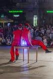 Festival del teatro della via a Cracovia Immagine Stock Libera da Diritti