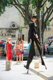 Festival del teatro di Avignone immagine stock