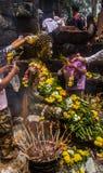 Festival del templo antiguo Foto de archivo libre de regalías