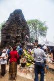 Festival del templo antiguo Fotos de archivo