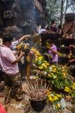 Festival del templo antiguo Imagen de archivo libre de regalías