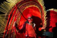 Festival del templo en Kerala Fotos de archivo libres de regalías