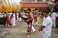 Festival del vegetariano de Phuket Tailandia Imagen de archivo