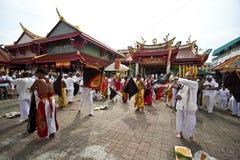 Festival del vegetariano de Phuket Tailandia Foto de archivo