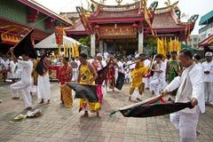Festival del vegetariano de Phuket Tailandia Fotos de archivo libres de regalías
