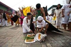 Festival del vegetariano de Phuket Tailandia Imagenes de archivo