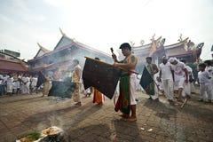 Festival del vegetariano de Phuket Tailandia Fotografía de archivo libre de regalías