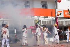 Festival del vegetariano de Surat Thani Fotos de archivo