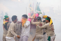 Festival del vegetariano de Surat Thani Foto de archivo libre de regalías
