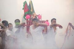 Festival del vegetariano de Surat Thani Fotografía de archivo