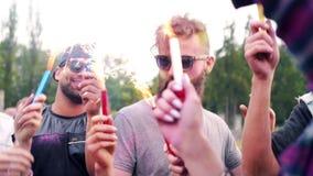 Festival del verano almacen de video