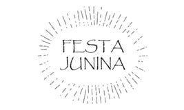 Festival del verano de Festa Junina del carnaval Fotografía de archivo