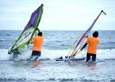 Festival 2013 del viento - puerto deportivo de Diano Foto de archivo