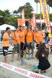Festival 2013 del viento - puerto deportivo de Diano Imagen de archivo