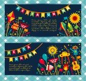 Festival del villaggio di Festa Junina in America Latina Fotografia Stock Libera da Diritti