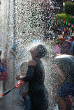 Festival dell'acqua in Tailandia. Fotografia Stock Libera da Diritti