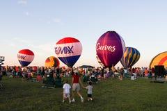 Festival dell'aerostato di aria calda Fotografie Stock