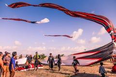 Festival dell'aquilone di Bali Fotografia Stock Libera da Diritti