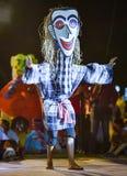 Festival dell'internazionale della maschera di manifestazione di ballo del Laos immagini stock