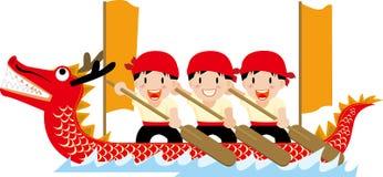 Festival della barca del drago royalty illustrazione gratis