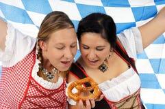 Festival della birra di Monaco di Baviera Immagini Stock Libere da Diritti