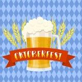 Festival della birra di Oktoberfest Illustrazione di colore Fotografie Stock Libere da Diritti